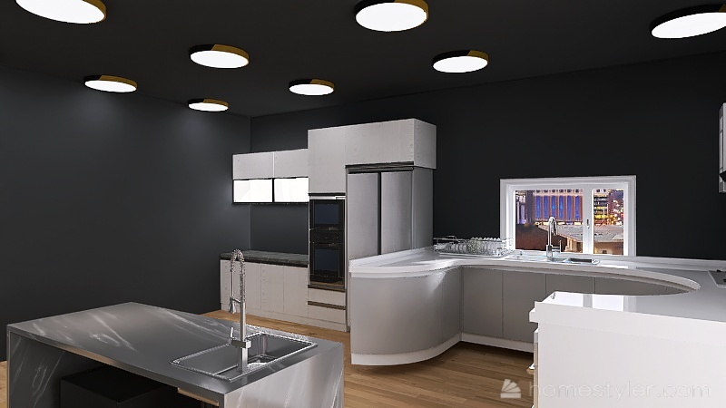 U2A5 gym room Mcgrath, Ryan Interior Design Render
