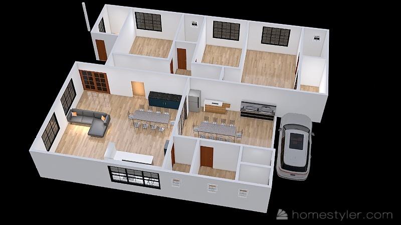 Copy of Design Rita e Geninho - v4 Interior Design Render