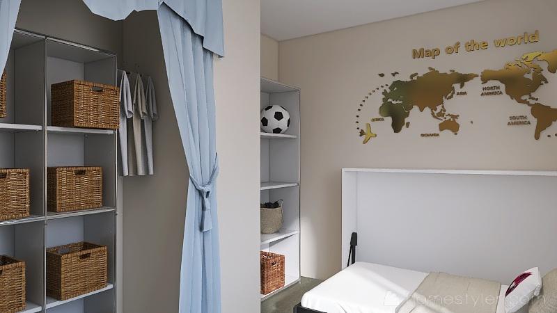 U2A2 My Bedroom, Guajardo, Abby Interior Design Render