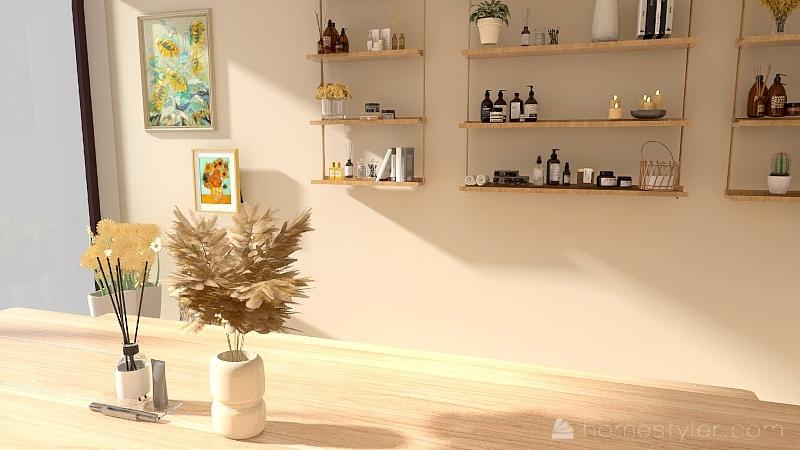 芳香陽光體驗館 Interior Design Render