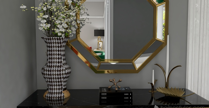 Transformation Old > New Interior Design Render