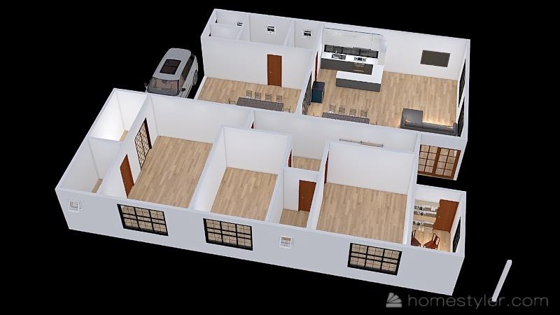 Design Rita e Geninho - v5 Interior Design Render