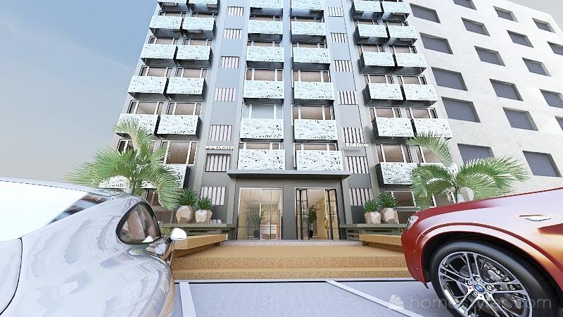 Immeuble horizon Plateau Interior Design Render