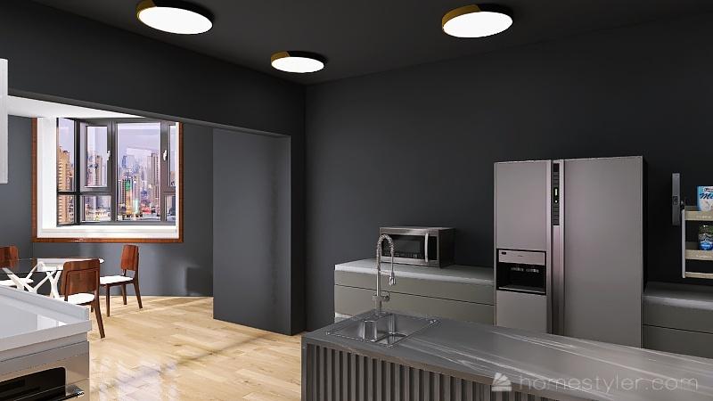 U2A4 entertainment bonus room McGrath, Ryan Interior Design Render