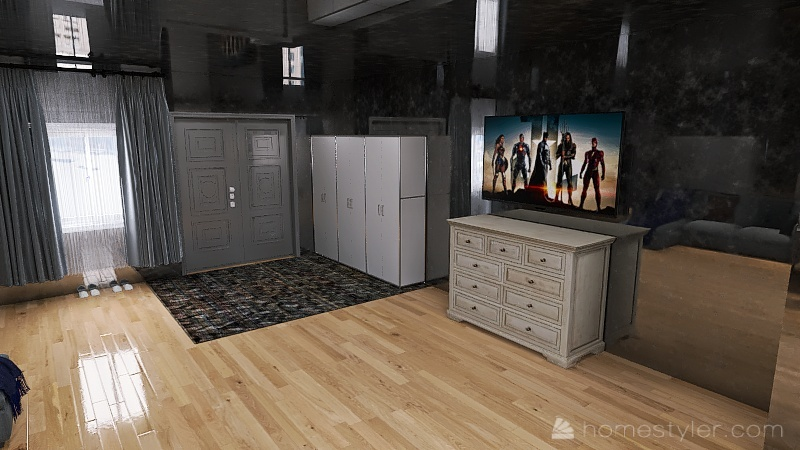 U2A2 Welcome To My Home Ha, Kevin Interior Design Render