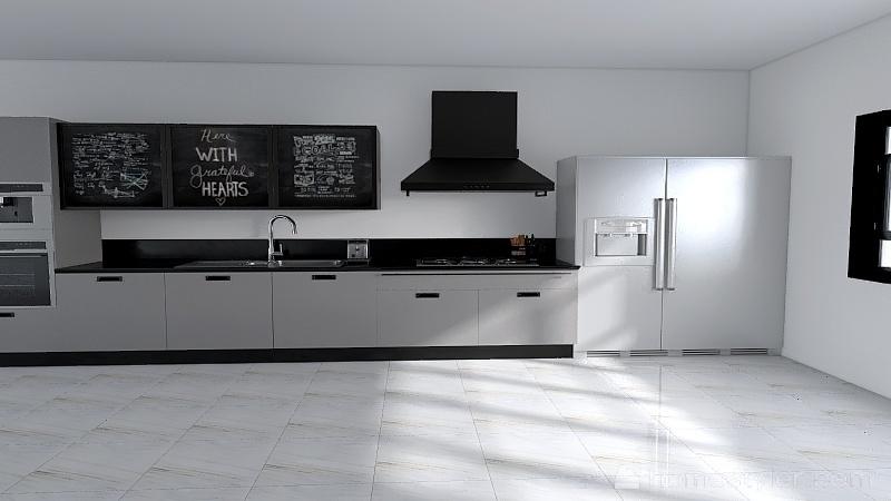 U2A3 welcome to my kitchen Maksymyshyn, Blake Interior Design Render