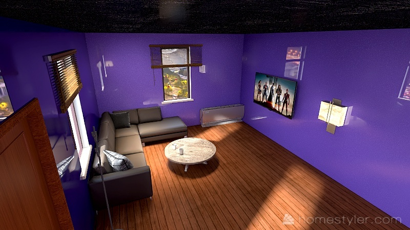 U2A1 welcome to my home Ling-Vance, Justin Interior Design Render