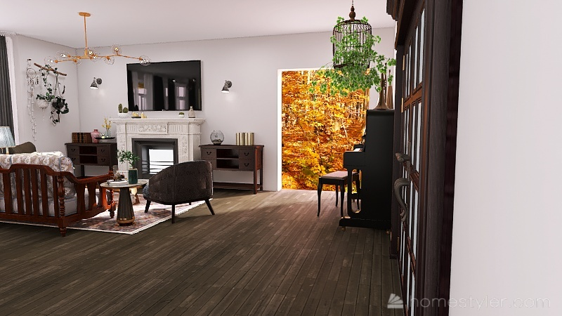 U2A1 welcome to my home, Lalonde, Neva Interior Design Render