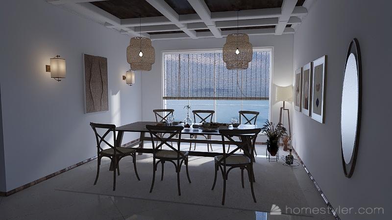 ESTILO MEDITERRANEO Interior Design Render
