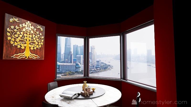 ( : U2A5 Second Bonus Room ) Welcome to my home (Mark H) Interior Design Render
