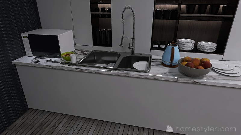Copy of U2A3 my kitchen Rehkopf, Noah Interior Design Render