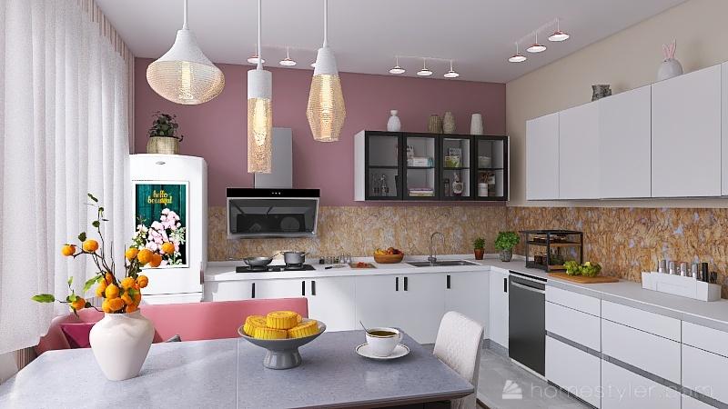 Casa M Interior Design Render