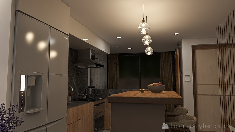 Townhouse v2.1 Interior Design Render