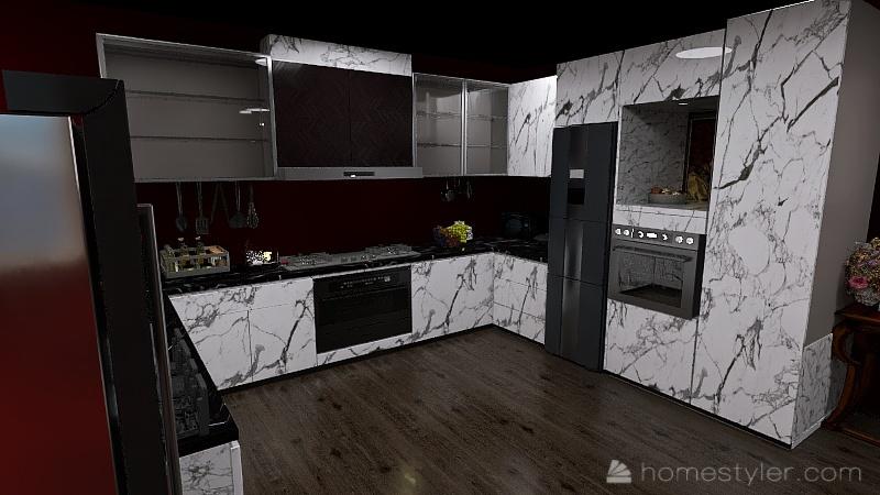 ( U2A4 Entertainment Bonus Room) Welcome to my home (Mark H) Interior Design Render