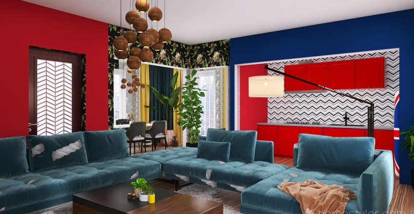 KRYŠTOF Interior Design Render