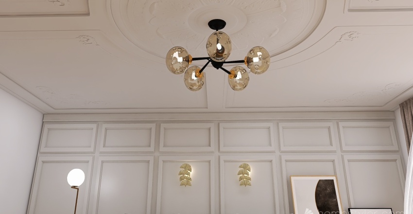 clasicall Interior Design Render