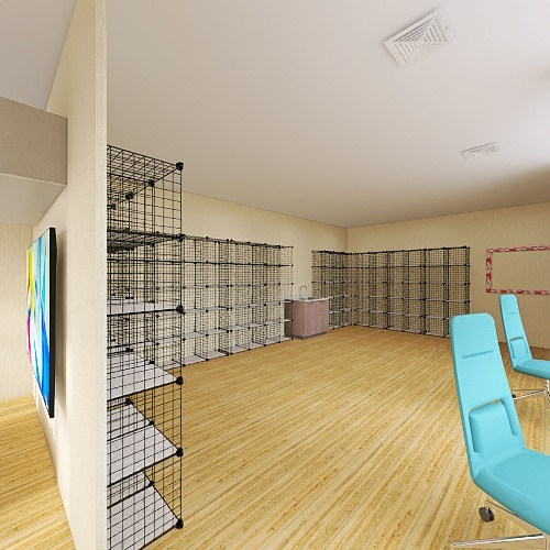 PHARMACY AHMADI Interior Design Render