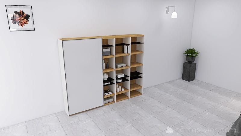 apartamento duplex en Denia Interior Design Render