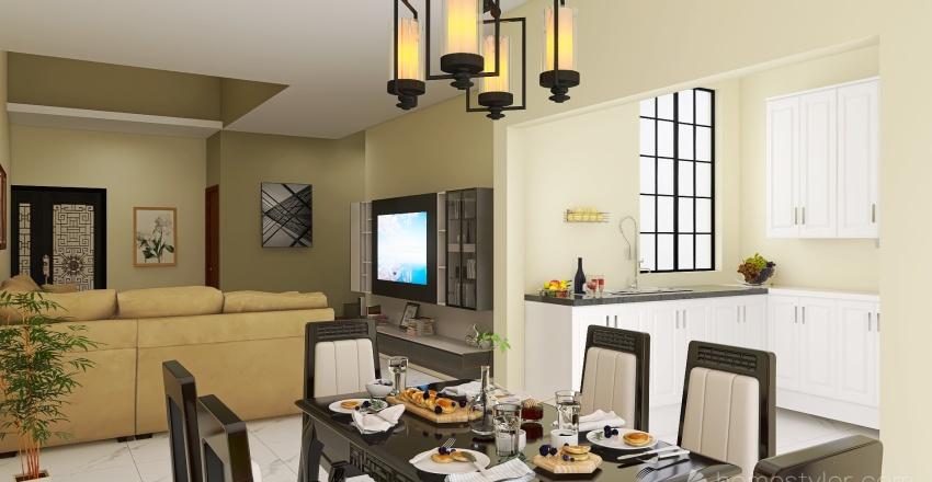 Copy of Sandra papa 1 nivel Interior Design Render