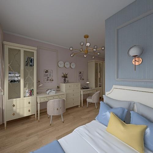Детская Дима/Настя №2 Interior Design Render