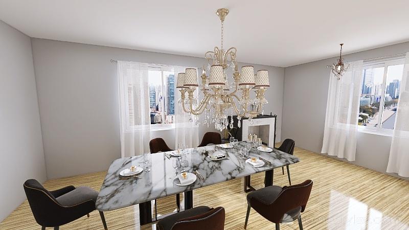 casa 34 Interior Design Render