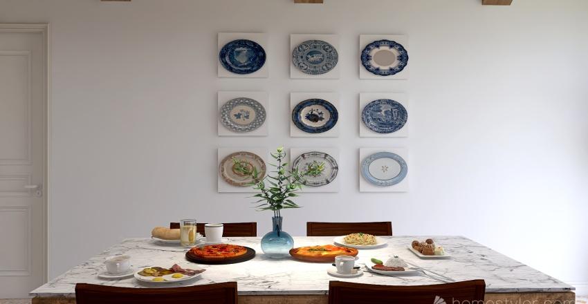 kitchen 456 Interior Design Render