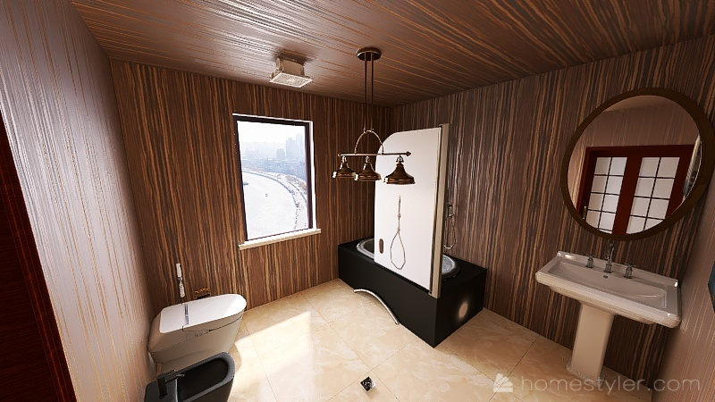 Saad's Dream Room Interior Design Render