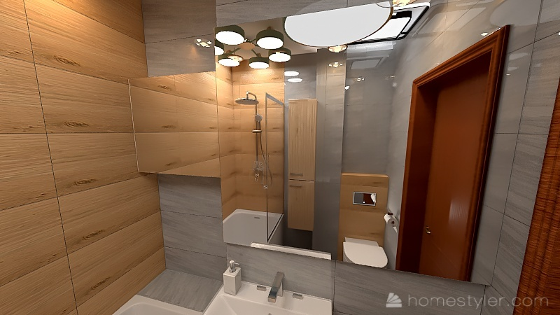 Lazienka-29-08-21-wanna Interior Design Render