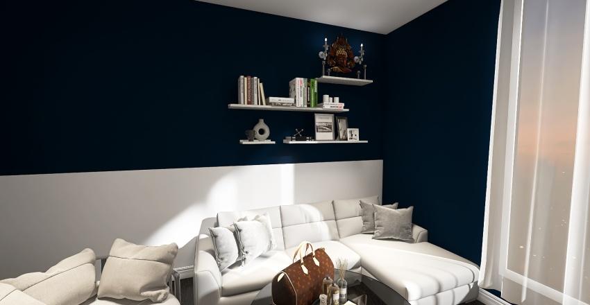 Office Room Interior Design Render