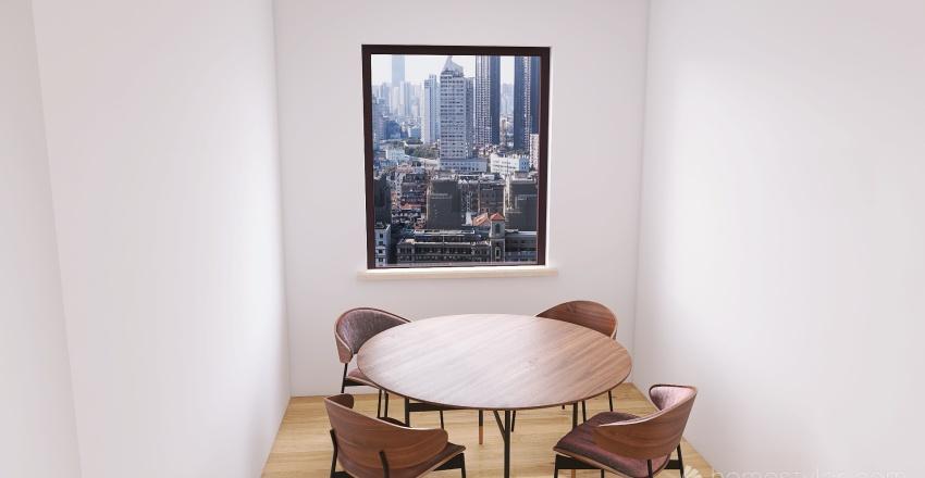 Casual Home Interior Design Render