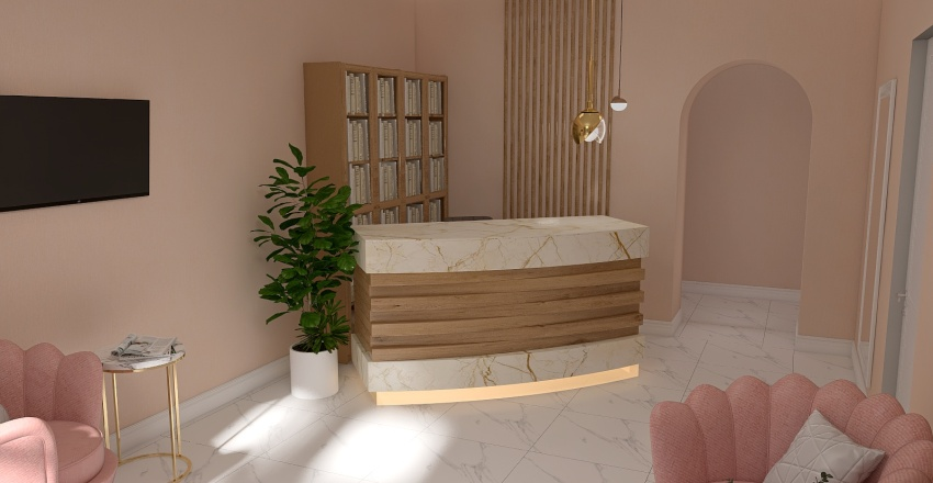 стоматология 2 Interior Design Render