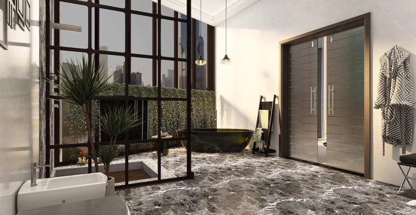 EL PINTOR Y SU MUSA.. Interior Design Render