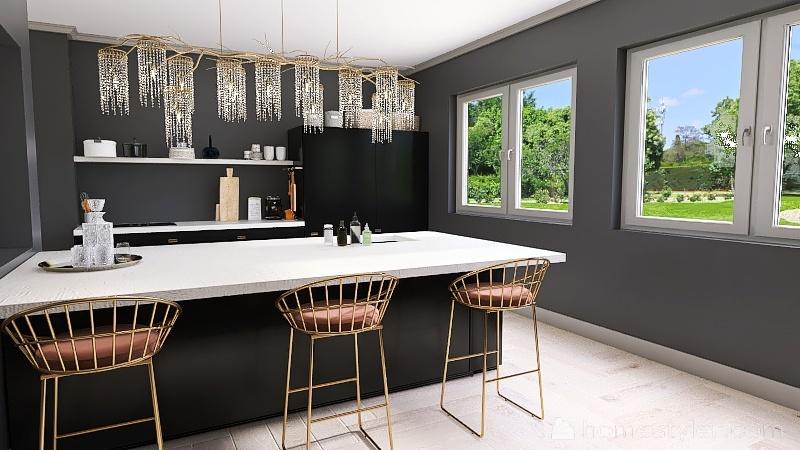 K&K HomeStyle  Interior Design Render