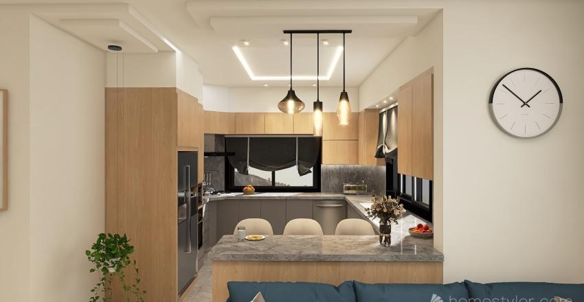 Mohammad House Interior Design Render
