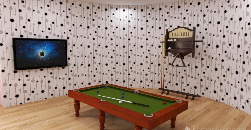 U2A4 Entertainment Bonus Room Jordan, W Interior Design Render