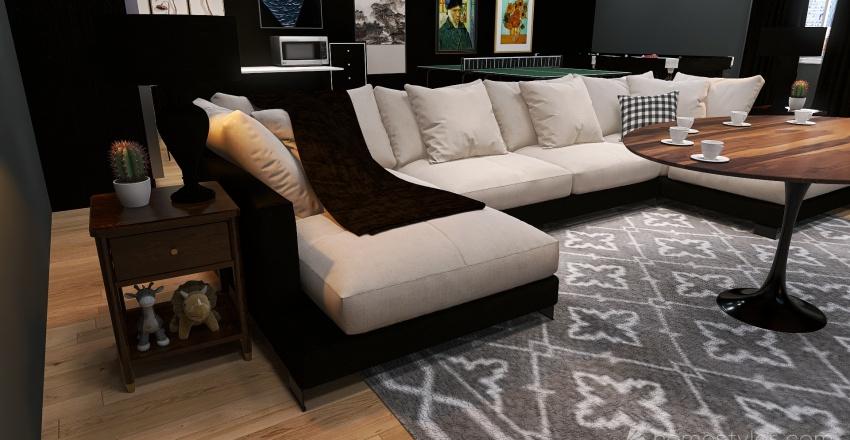 U2A4 Entertainment bonus room Ha, Kevin Interior Design Render