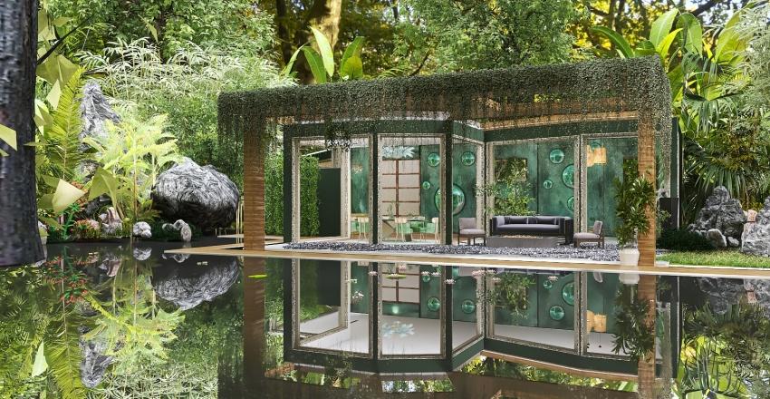 Heart of the Woods Interior Design Render