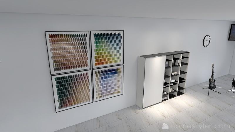 U2A4 Entertainment Bonus Room Maksymyshyn, Blake Interior Design Render