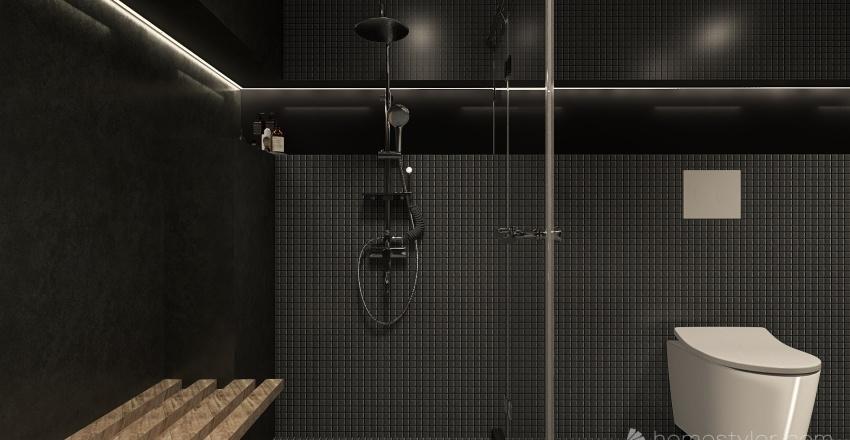 dark Interior Design Render