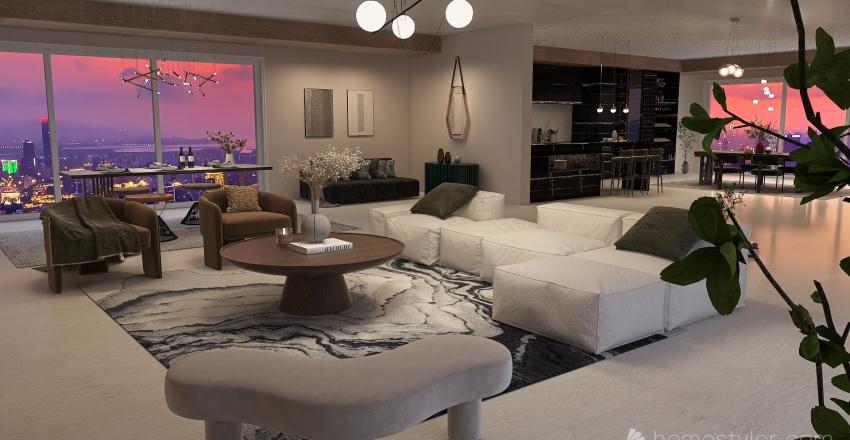 LUXURY APARTMENT IN NYC Interior Design Render