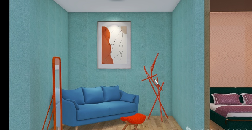 color scheme Interior Design Render