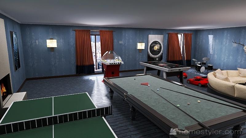 U2A5 second bonus room Metler, Devon Interior Design Render