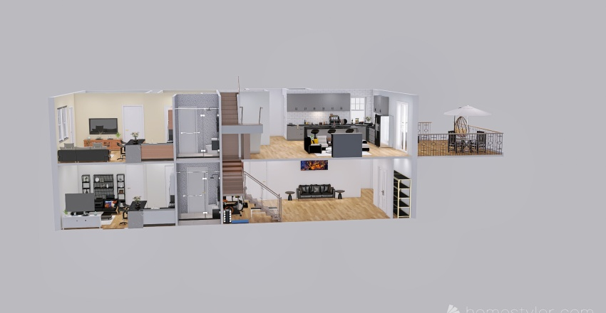 Extra Rev_Basement_mreshamr0ck Interior Design Render