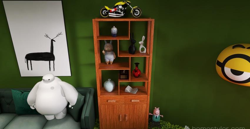 U2A4 Entertainment Bonus Room Cassibo, Connor Interior Design Render