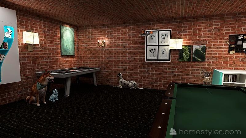 Copy of Copy of Copy of Copy of U2A4 welcome to bonus room Interior Design Render