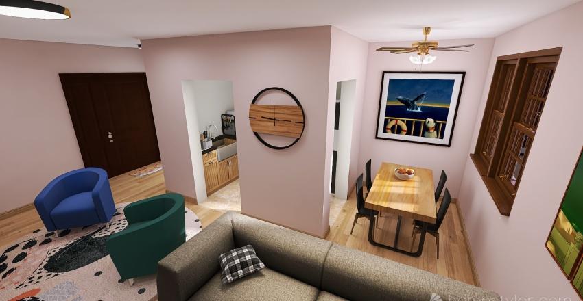 Samuel Zheng - Dream Bedroom Interior Design Render