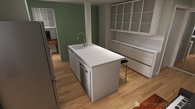 702-209 Carnarvon Interior Design Render