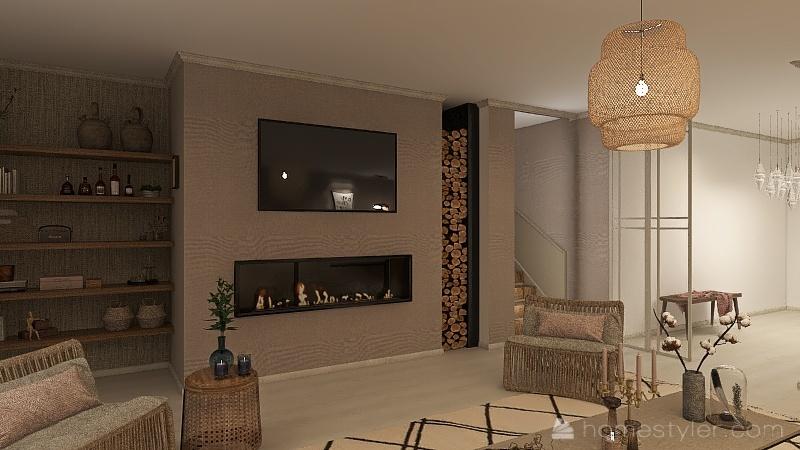 K&K Home Interior Design Render