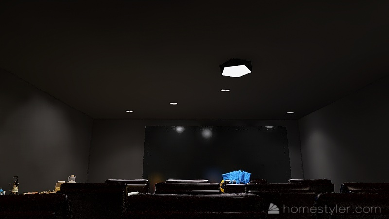 U2A4 Entertainment Bonus Room Lalonde, Neva Interior Design Render