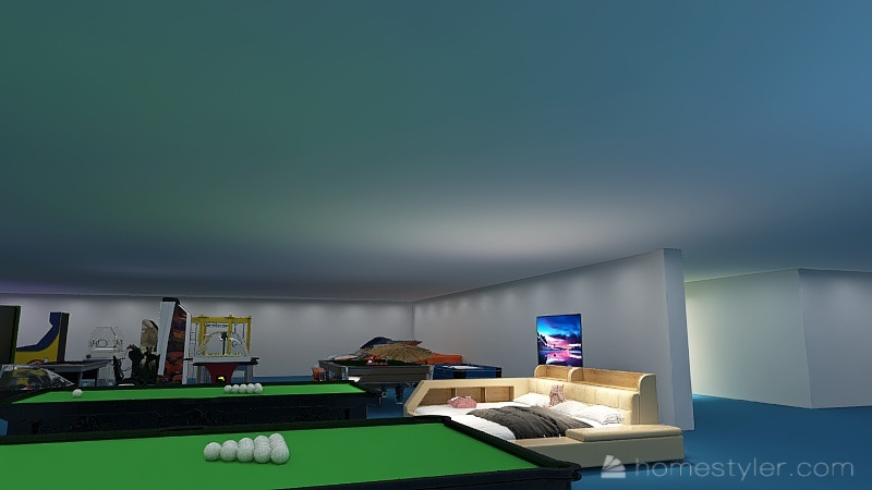 U2A4 entertainment bonus room Kant, Ryan Interior Design Render